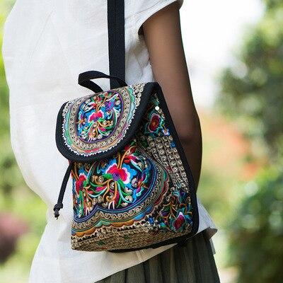 Petit sac a dos ethnique femme