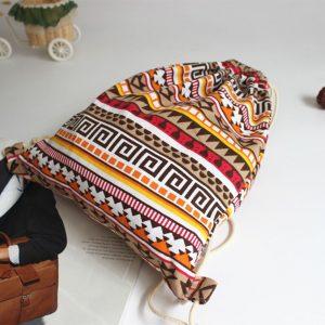 Achat Sac tissu ethnique