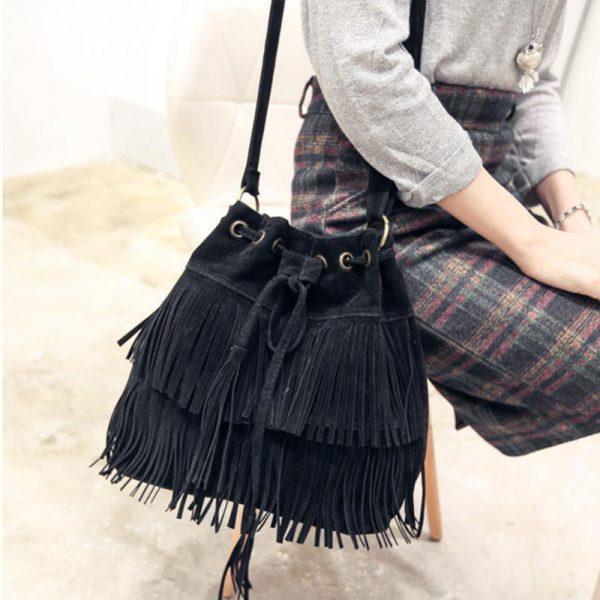 Sac Style Bohème noir