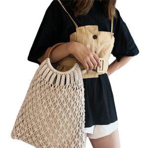 Sac Boho Crochet coton
