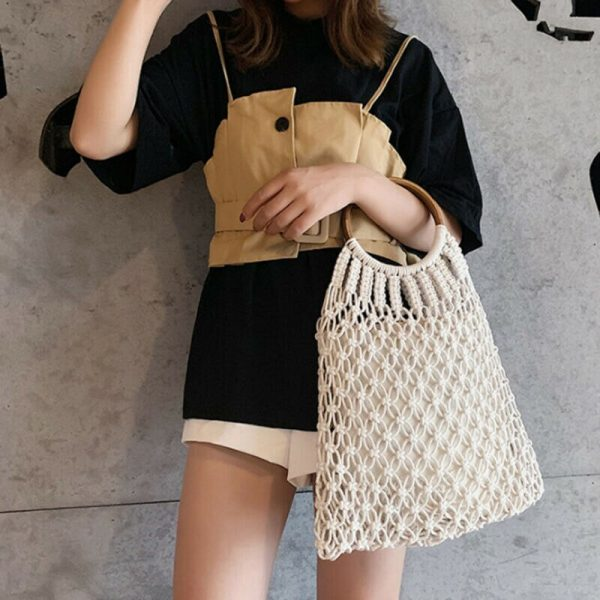 Sac Boho Crochet mode